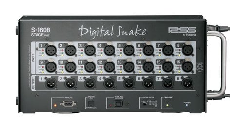 Roland System Group S-1608 Digital Snake, Stage Unit ONLY S1608