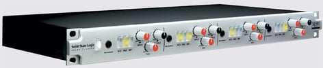 Solid State Logic ALPHA-VHD-4 Mic Preamp, 4 Channel ALPHA-VHD-4
