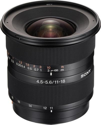 Sony SAL-1118 Super Wide Zoom Lens, 11-18mm SAL1118