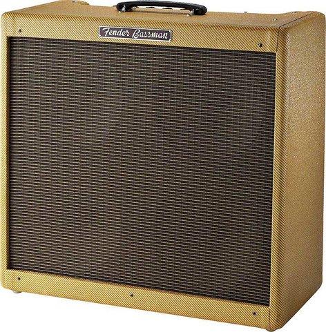 "Fender BASSMAN '59 Vintage Reissue LTD Vintage '59 Bassman Reissue, Guitar Combo, 4 x 10"" Jensen Speakers, 45W, 2 ohms, Tweed Covering BASSMAN-59-LTD-RI"