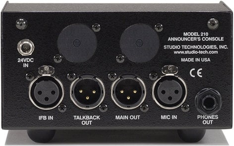 Studio Technologies MODEL-210 Announcer's Console MODEL-210