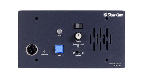 Clear-Com KB-702 2-Channel Flushmount Intercom Speaker Station KB702