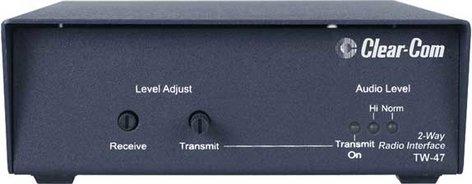 Clear-Com TW47 2-Way Radio And Walkie-Talkie Interface