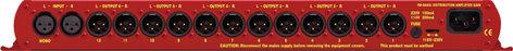Sonifex RB-DA6G  Dist. Amp, 2x6 or 1x12 w/Gain  RB-DA6G