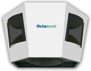 "Octasound SP540A Ceiling Speaker, White 12"" SP540A"