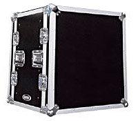 Odyssey FZS12W Shock Mount Rack Case w/ Wheels, 12 RU FZS12W