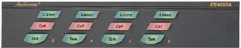 Telex ES4000A-90007551-000  4 Ch Expander Station, No Power Supply ES4000A-90007551-000