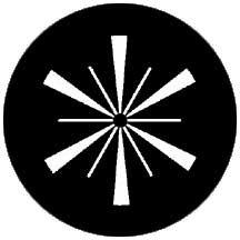Rosco Laboratories 74016 Gobo Symmetric 16 74016