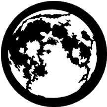 Rosco Laboratories 77220 Gobo Moon 77220