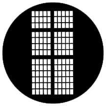 Rosco Laboratories 77238 Gobo Statesman 77238