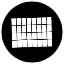 Rosco Laboratories 77279 Gobo Industrial Window 77279