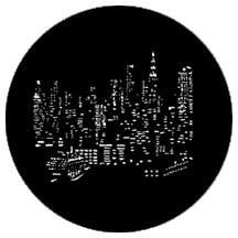 Rosco Laboratories 77287 Gobo NY City Skyline 77287