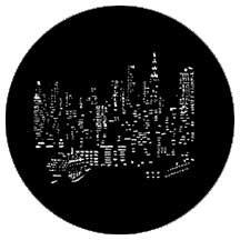 Rosco 77287 Gobo NY City Skyline 77287