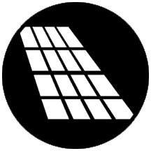 Rosco Laboratories 77643 Gobo, Double Hung Shadow 77643