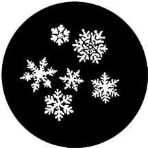 Rosco Laboratories 77772 Gobo Snowflakes 77772