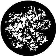 Rosco Laboratories 77774 Gobo Blossoms 77774