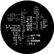 Rosco Laboratories 77786 Gobo City Lights 77786