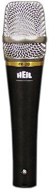 Heil Sound PR 20 Dynamic Vocal Cardioid Microphone in Black PR20-HEIL