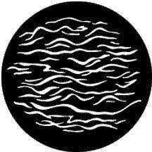 Rosco Laboratories 77906 Gobo Reflected Water 2 77906