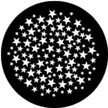 Rosco Laboratories 77932 Gobo Stars 6 77932