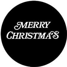 Rosco 77939 Gobo Merry Christmas 77939