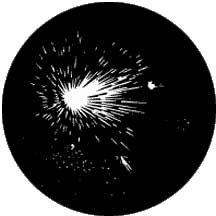 Rosco 78013 Gobo Fireworks 5C 78013
