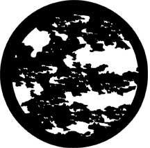 Rosco Laboratories 78222 Gobo Moonlight Leaves 78222