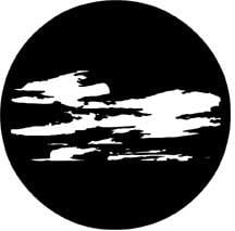 Rosco Laboratories 78229 Gobo Windy Clouds 78229