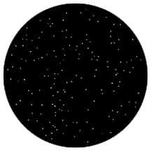 Rosco Laboratories 79005 Gobo Nightsky 1 79005