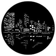 Rosco Laboratories 79023 Gobo City Lights 2 79023