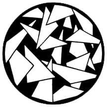 Rosco Laboratories 79076 Gobo Triangles 2 79076