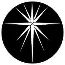 Rosco 79179-ROSCO Gobo Star Bethlehem 79179-ROSCO