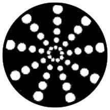 Rosco Laboratories 79702 Gobo Radical Circle 79702