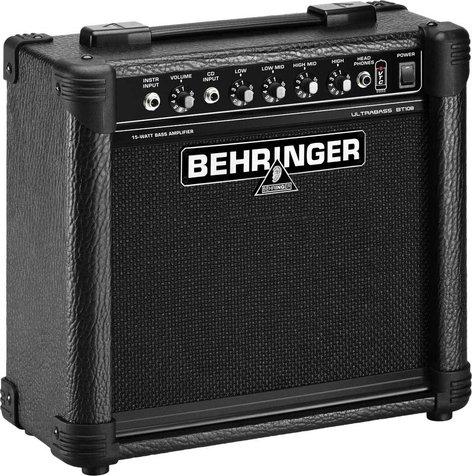 """Behringer ULTRABASS BT108 15W 1x8"""" Bass Combo Amplifier BT108-ULTRABASS"""