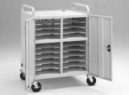 Da-Lite 6300 Laptop Storage Cart (CT-LS20) 6300