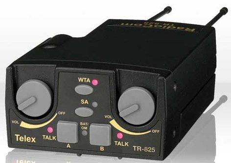 Telex TR825-A4F UHF Radiocom Beltpack A4F TR825-A4F