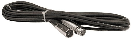 Hosa DMX-503 DMX Lighting Cable, 5-Pin Male to 5-Pin Female (3 Feet) DMX503