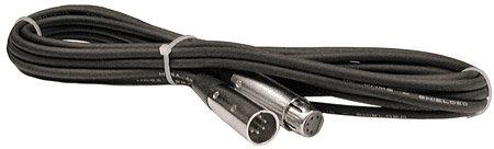 Hosa DMX-550 DMX Lighting Cable, 5-Pin Male to 5-Pin Female (50 Feet) DMX550