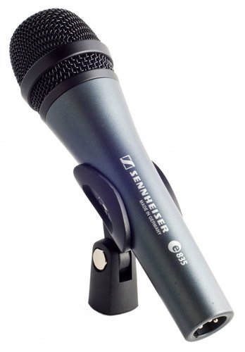Sennheiser e 835-S evolution Series Handheld Cardioid Vocal Microphone with Switch E835S