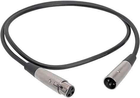 Hosa MCL-105 Microphone Cable, XLR Male - XLR Female, 5 Feet MCL105