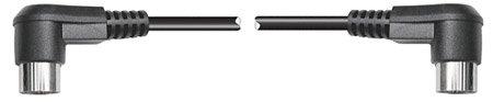 Hosa MID-305RR Right Angle MIDI Cable, Male - Male, 5 Feet MID-305RR