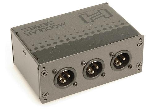 Hosa MXL-369 6-Point Balanced XLR Patch Bay MXL369