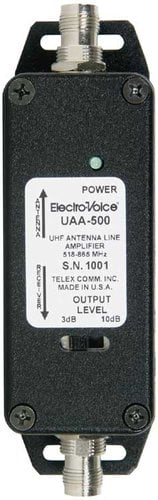Electro-Voice UAA500 Antenna Amplifier, Wide Band RF UAA-500