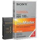 Sony PHDV186DM DVCAM/HDV Mini Cassette 186min PHDV186DM