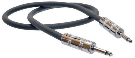 "Hosa SKJ-205 Speaker Cable, 1/4"" Phone Male - 1/4"" Phone Male, 5 Feet SKJ205"