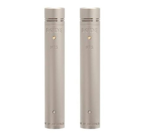 Rode NT5 (NT5-MP) Matched Pair of Cardioid Condenser Microphones NT5-MP