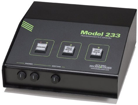 Studio Technologies MODEL-233 Announcer's Console MODEL-233