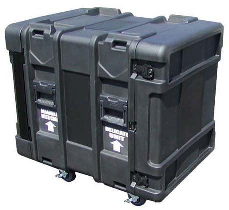 "SKB Cases 3SKB-R912U24 24"" Deep 12U Roto Shock Rack 3SKB-R912U24"