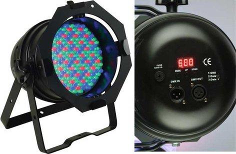 ADJ 64B LED Pro PAR64 LED Pro Fixture in Black 64B-LED-PRO