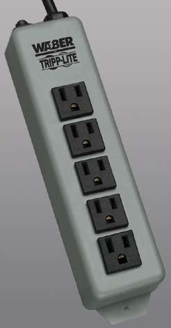 Tripp Lite 602-WABER Power Strip 5 Outlet Waber 602